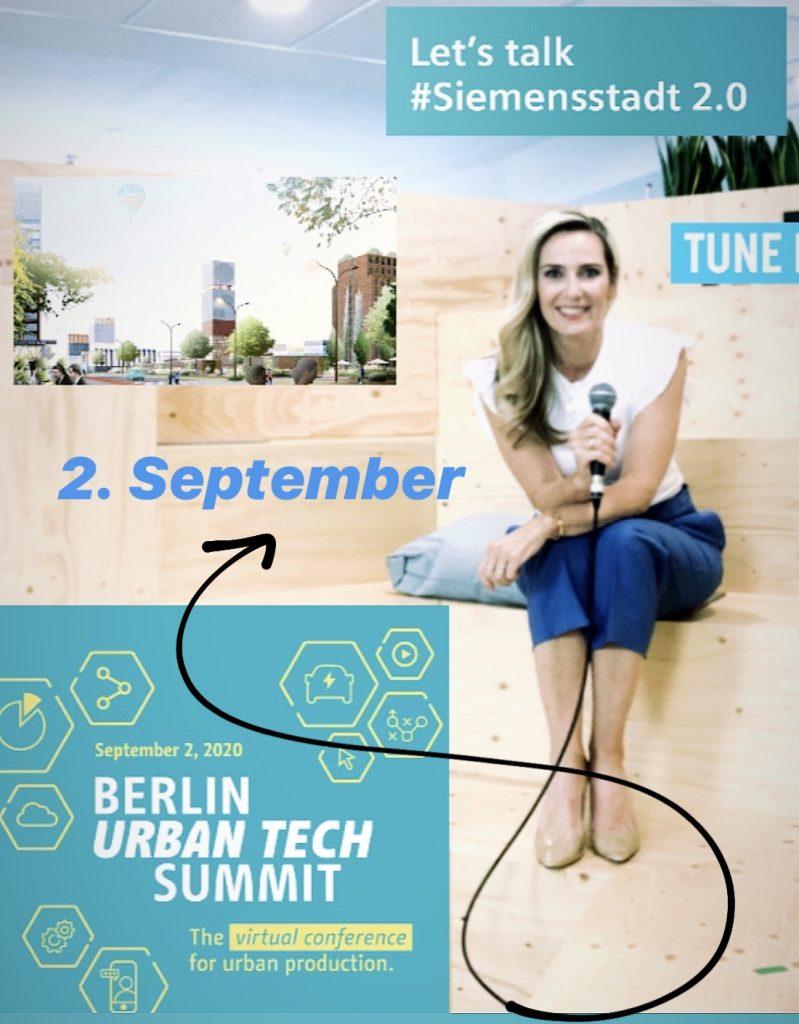 Berlin Urban Tech Moderation Christiane Stein